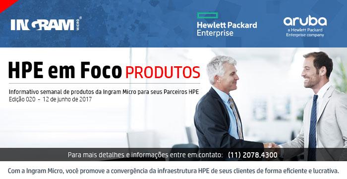 INGRAM MICRO - HPE em Foco -- Informativo semanal da Ingram Micro para seus Parceiros HPE | Com a Ingram Micro, você promove a convergência da infraestrutura HPE de seus clientes de forma eficiente e lucrativa.