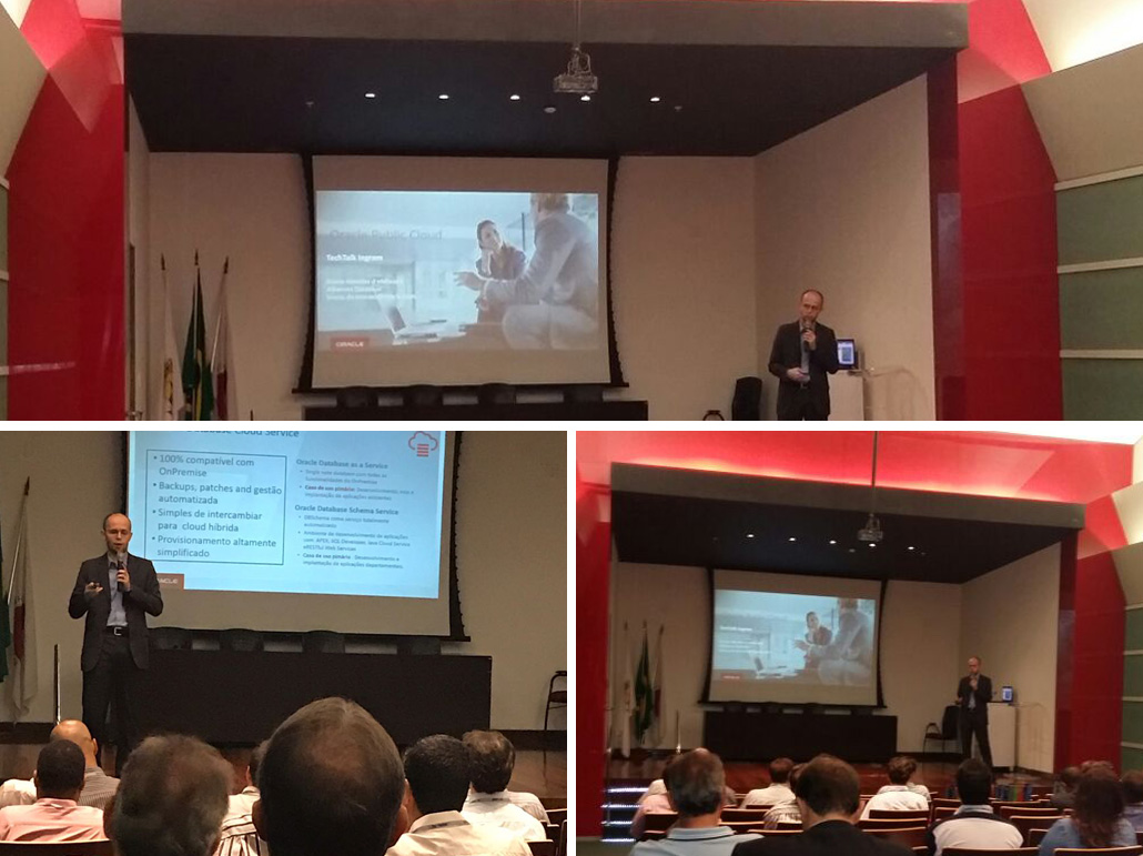 Tech Talk Oracle Cloud - Belo Horizonte